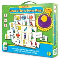 Match It! Listen And Play Bingo - Home
