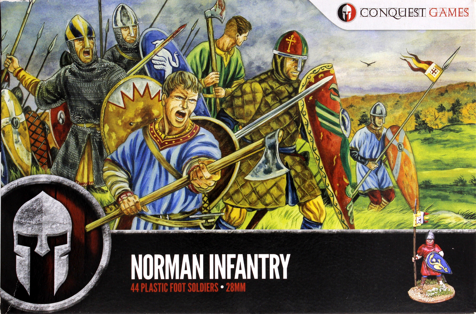 Conquest Games: Norman Infantry image