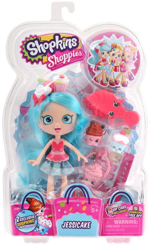 Shopkins Shoppies - Jessicake Doll