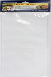 JTT Styrene Pattern Sheets Spanish Tile (2pk) - O Scale