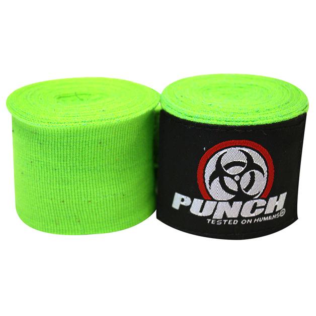 Punch: Urban Hand Wraps - 400cm (Green)