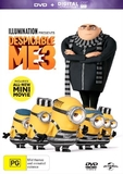 Despicable Me 3 on DVD