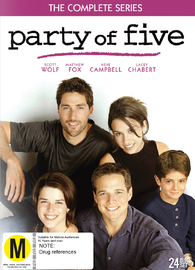 Party Of Five - The Complete Series on DVD
