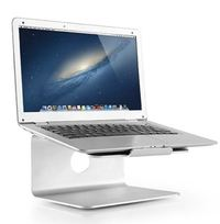 Brateck Deluxe Aluminum Laptop Stand - Silver