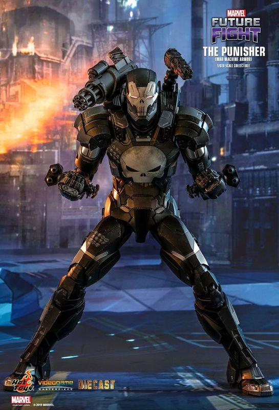 """Future Fight - Punisher War Machine - 12"""" Articulated Figure"""