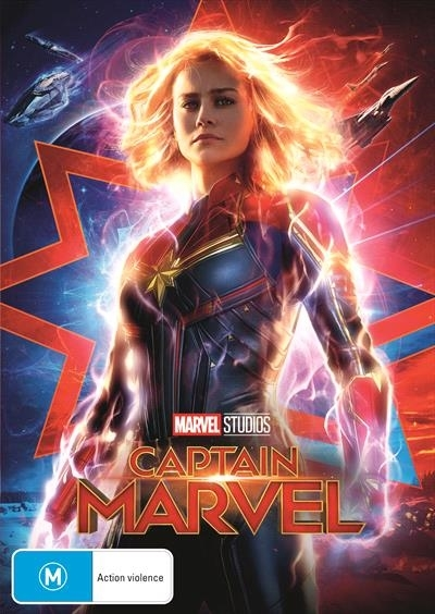 Captain Marvel on DVD image