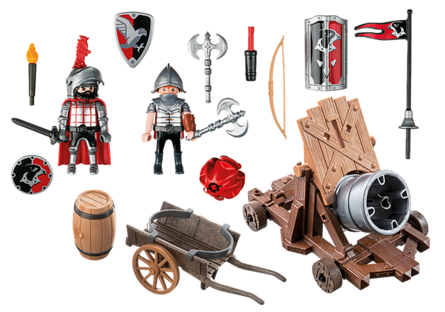 Playmobil: Hawk Knight's Battle Cannon(6038)