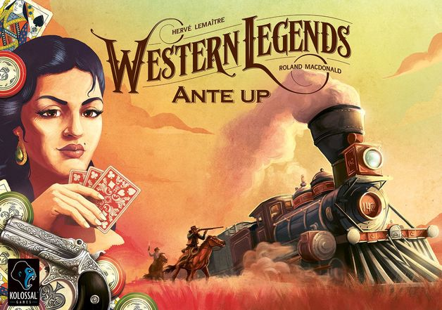 Western Legends: Ante Up! - Game Expansion