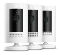 Ring Stick Up Cam Battery (3rd Gen) - White (3 Pack)