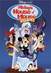 Mickey's House of Villains on DVD