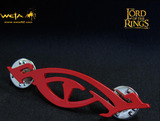 Lord of the Rings Red Eye of Sauron Pin - by Weta