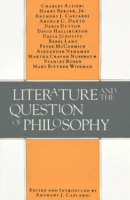 Literature and the Question of Philosophy