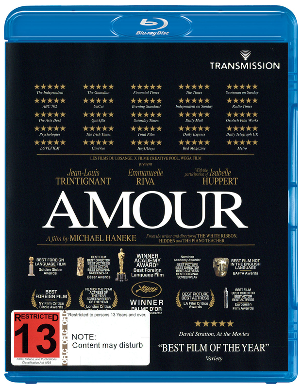 Amour on Blu-ray