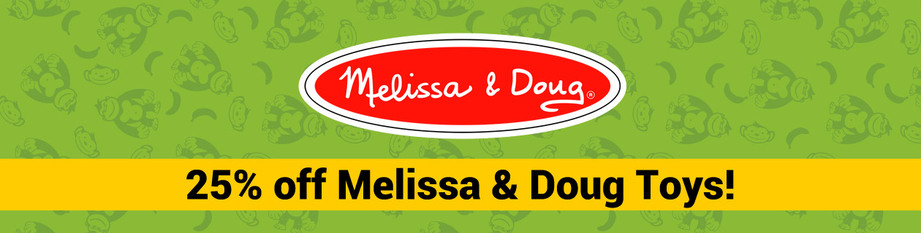 25% Off Melissa and Doug