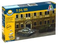 Italeri: 1/72 T-34/85 Russian Tank - Fast Assembly Kit
