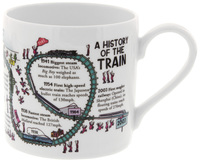 McLaggan Smith: Brainwaves Coffee Mug - History of the Train