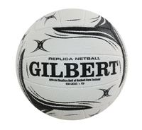 Gilbert Silver Ferns Replica Size 5