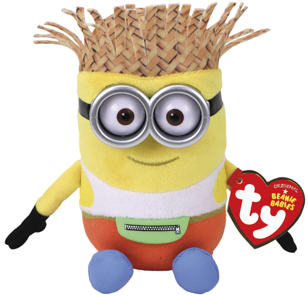 Ty Minions: Dave Tourist - Themed Plush