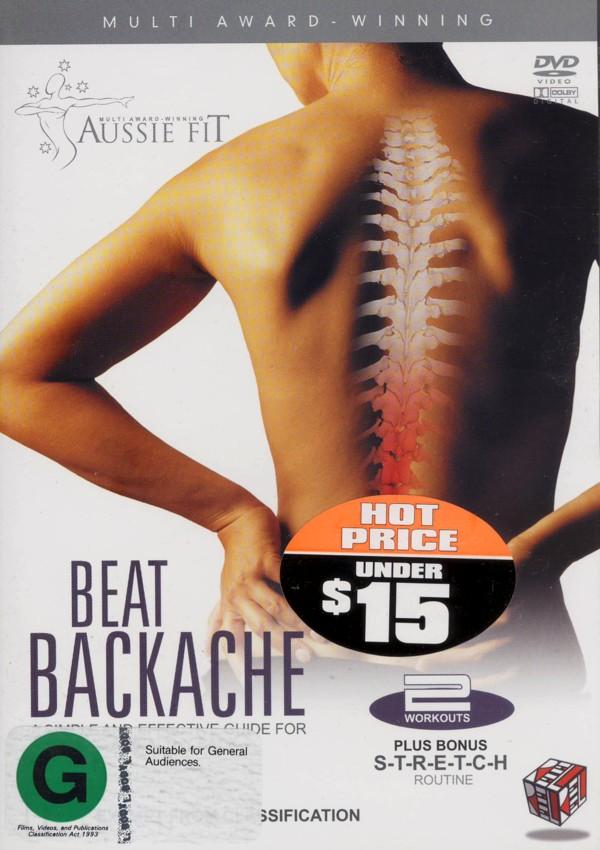 Aussie Fit - Beat Backache on DVD image