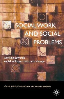 Social Work and Social Problems by Gerald G. Smale image