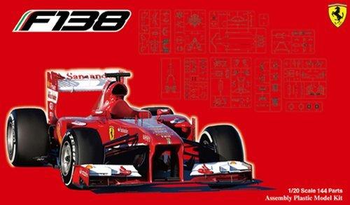 Fujimi: 1/20 Ferrari F138 Chinese Grand Prix 2013 (Alonso / Massa) - Model Kit
