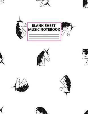 Blank Sheet Music Notebook by Jeffery Barton Music