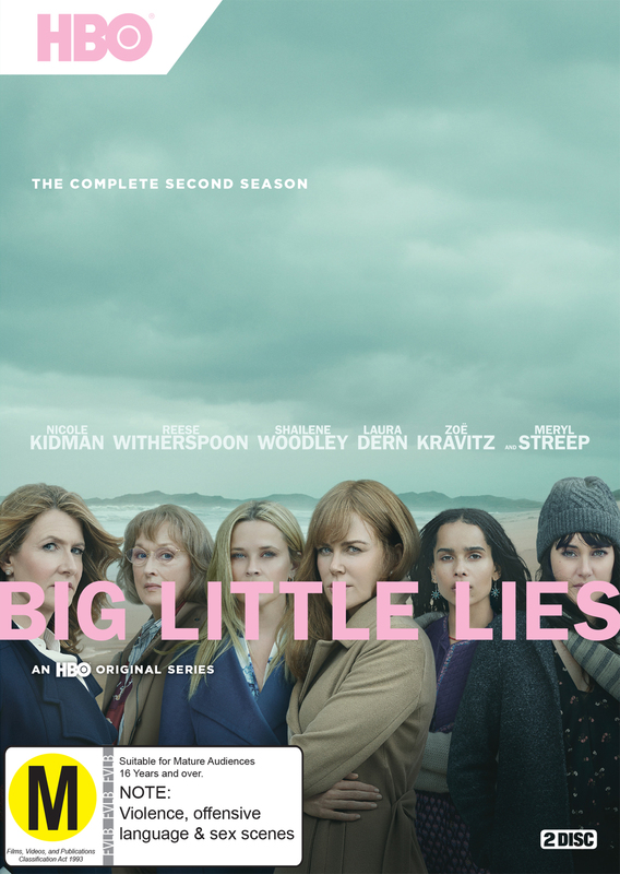 Big Little Lies Season 2 on DVD