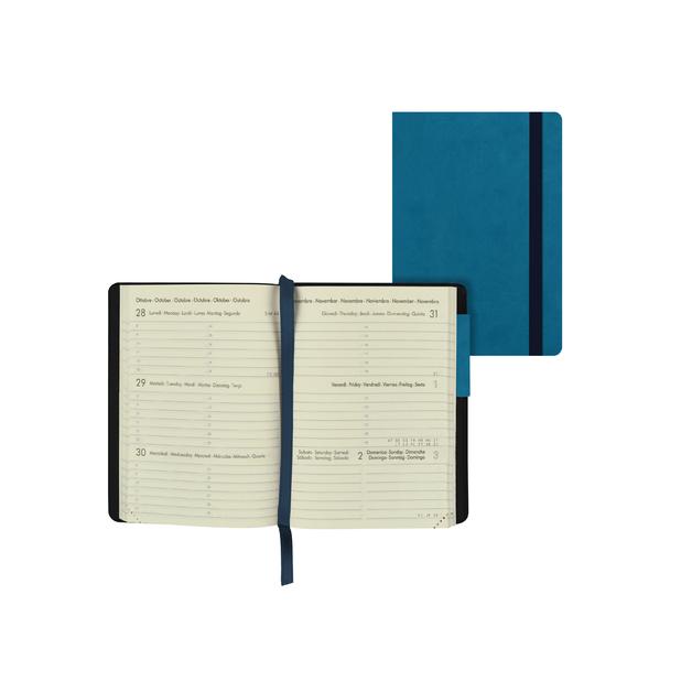 Legami: Mini Weekly 12 Month 2021 Diary - Petrol Blue (8 x 11cm)