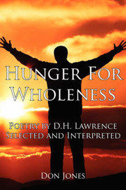 Hunger For Wholeness by Don Jones image