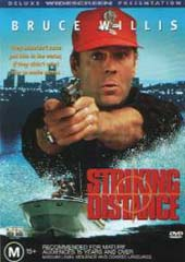 Striking Distance on DVD