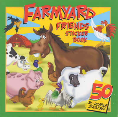 Farmyard Friends Sticker Book: Read and Count by Martin Rhodes-Schofield
