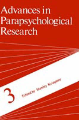 Advances in Parapsychological Research by Stanley Krippner image