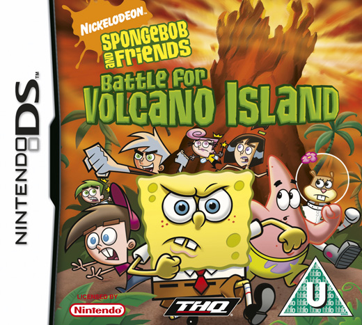 SpongeBob SquarePants & Friends: Battle for Volcano Island for Nintendo DS image