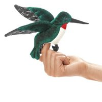 Folkmanis Mini Finger Puppet - Hummingbird