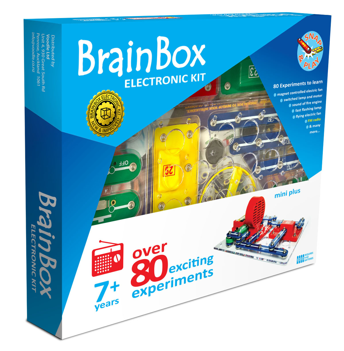 Brain Box: Mini Plus Experiment Kit image