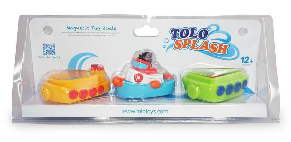 Tolo Toys: Magnetic Bath Tug Boat Set image