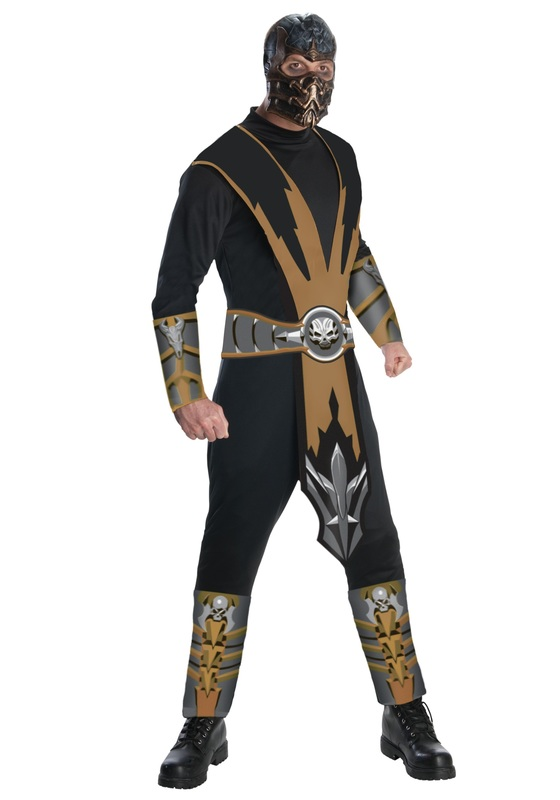 Mortal Kombat Scorpion Costume (Size Medium)