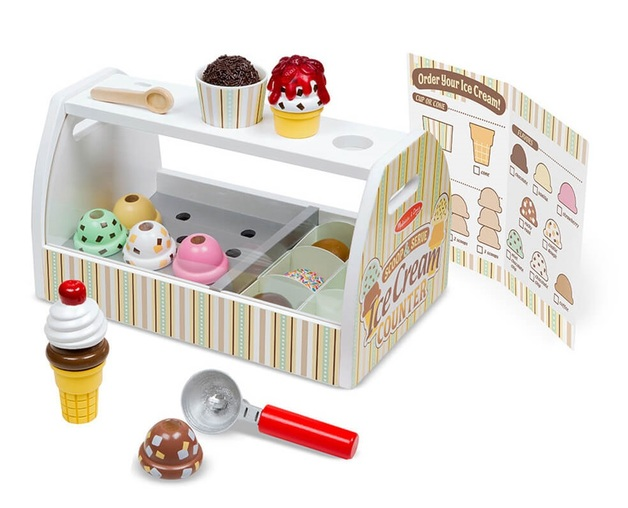 Melissa & Doug: Scoop & Serve - Ice Cream Counter