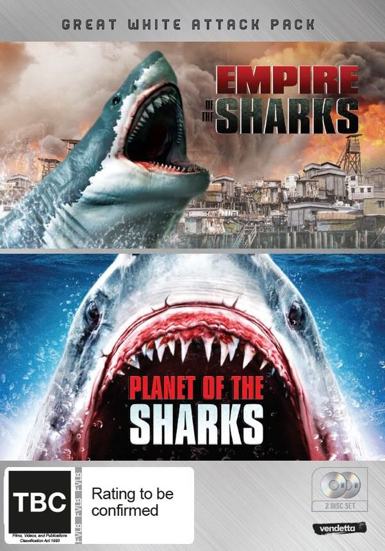 Great White Attack Pack: Empire of the Sharks & Planet of the Sharks on DVD