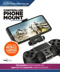 Powerwave PS4 Controller Phone Mount for PS4