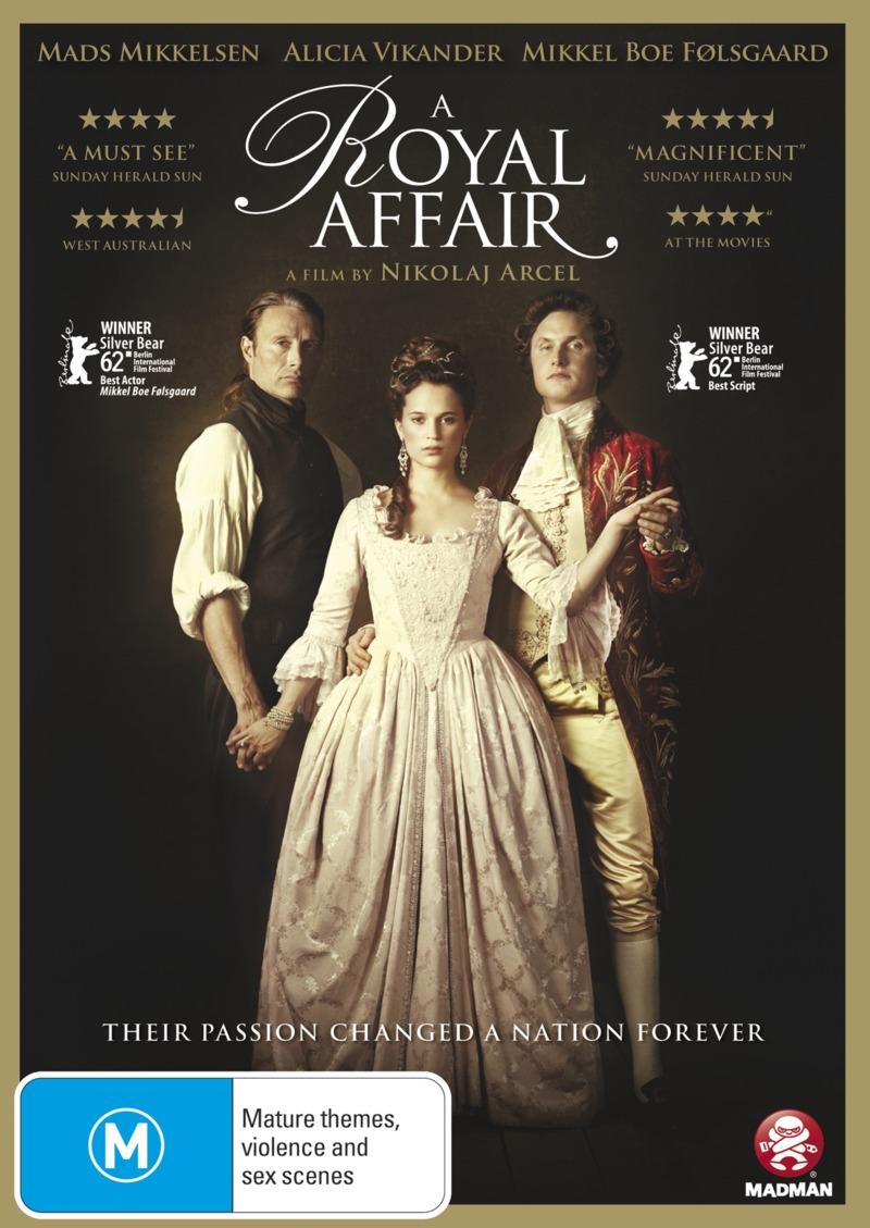 A Royal Affair on DVD image