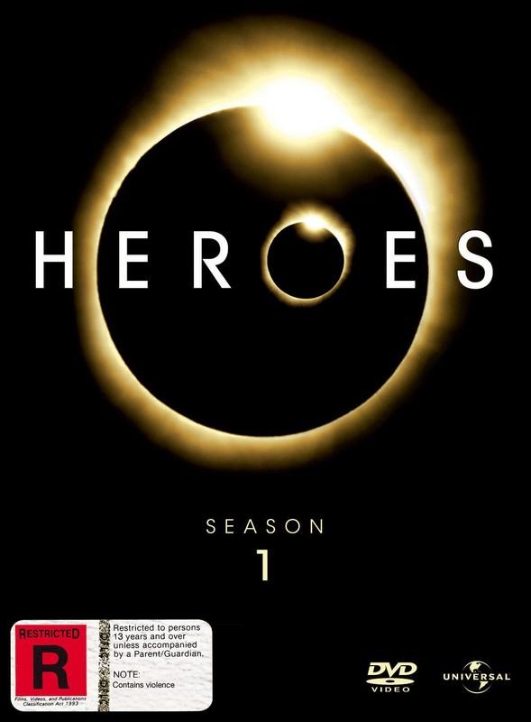 Heroes - Season 1 (7 Disc Box Set) Digipak on DVD