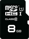 8GB Emtec - microSDHC Card with SD Adapter (Class 10)