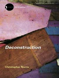 Deconstruction by Christopher Norris image