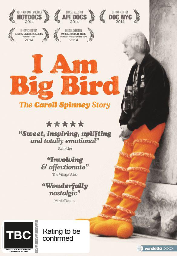 I Am Big Bird: The Caroll Spinney Story on DVD image