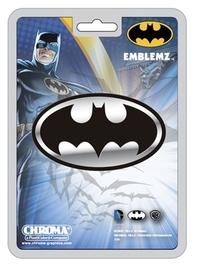 DC Comics: Batman Logo - Chrome Injection-Molded Emblem