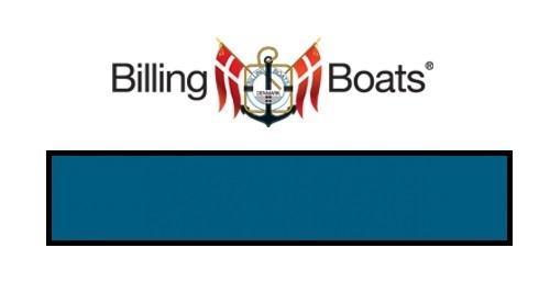 Billing Boats: Acrylic Paint - Mediterranean Blue (22ml)