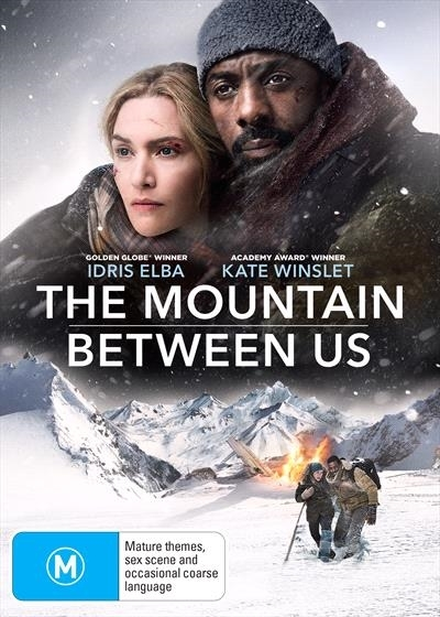 The Mountain Between Us on DVD