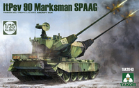Takom: 1/35 Finnish Self Propelled Anti Aircraft Gun (ltPsv 90 Marksman SPAAG) - Model Kit