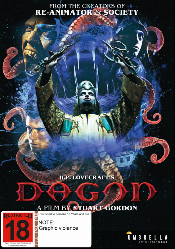 Dagon on DVD